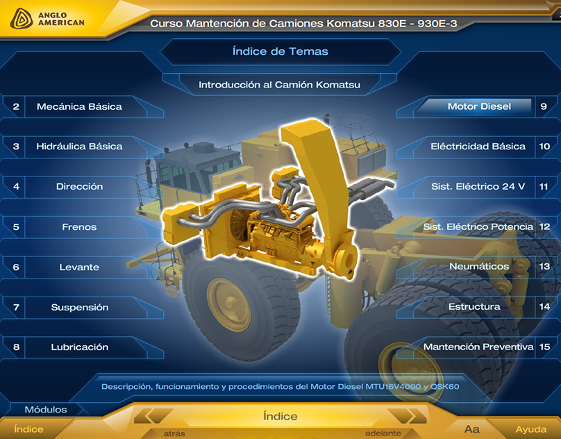 Komatsu trucks Basic Maintenance Course