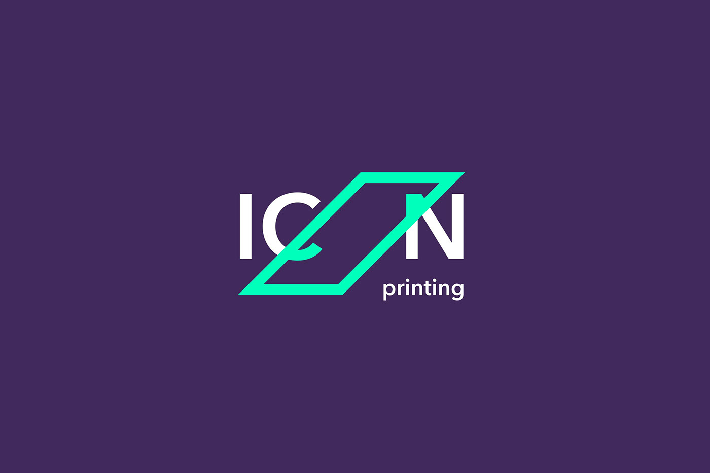 ICON Printing strategic rebrand programme
