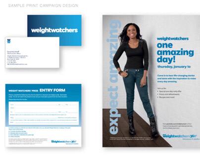 Weight Watchers Design Work