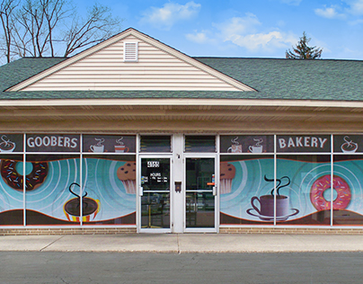Goobers Bakery | Window Decals