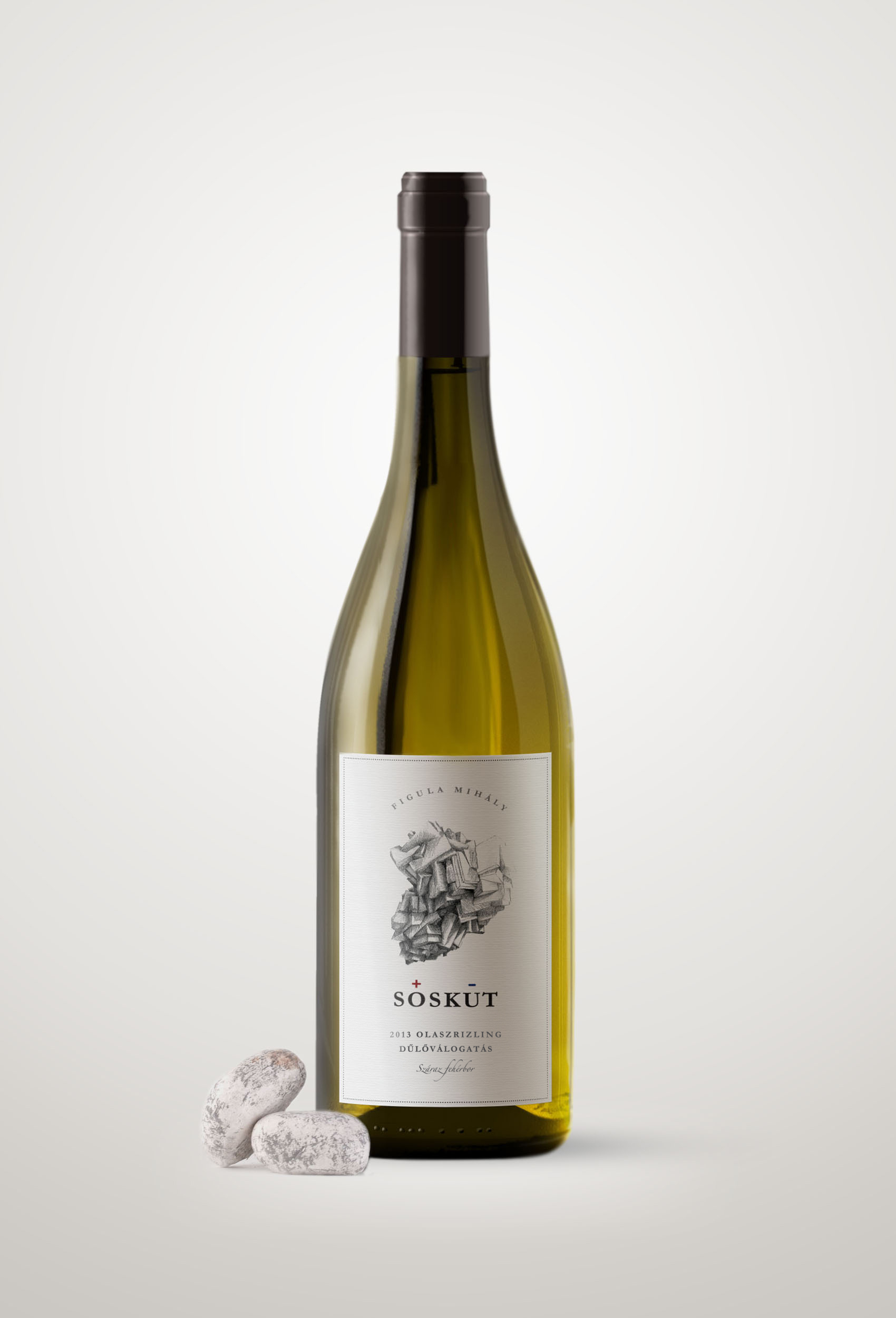 SÓSKÚT | wine label
