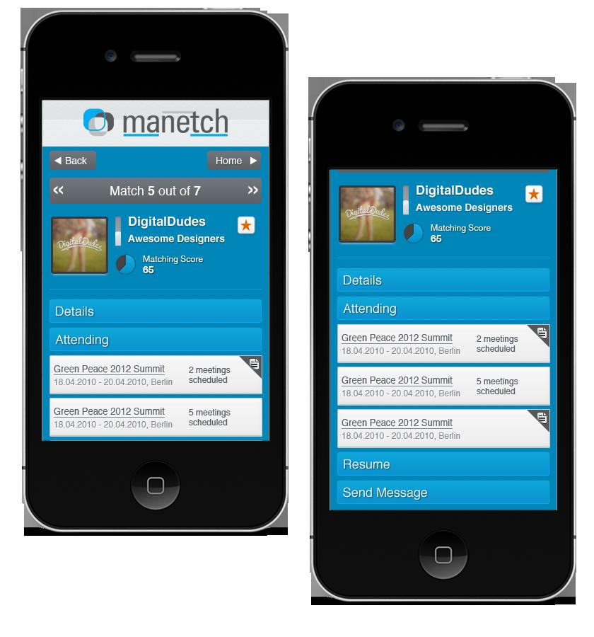 Manetch.com - Mobile Verison of Web App