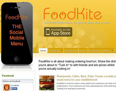 iPhone Prototypes - FoodKite