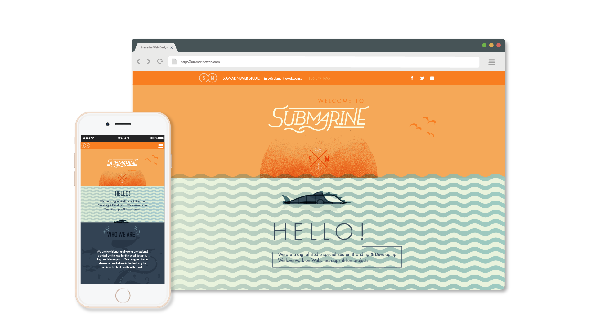 //SUBMARINE WEB// web.design
