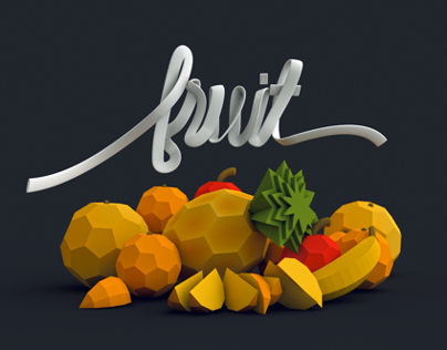 Low Poly Fruit