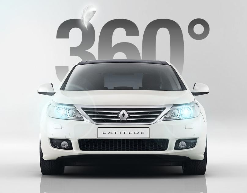 Renault Latitude Virtual Test Drive / Brand Website