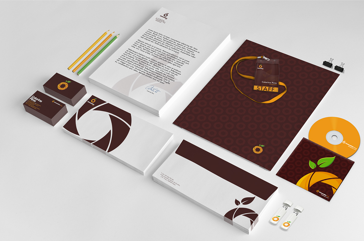 Clementine Things Corporate Identity
