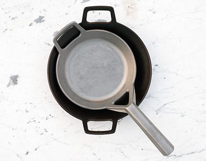 Cast Iron Skillets for Borough Furnace