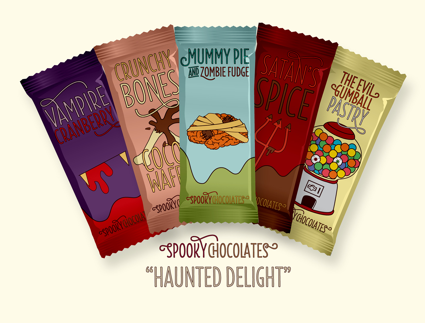 SPOOKY CHOCOLATES
