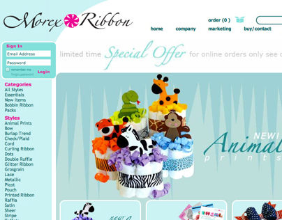 Morex Website Redesign