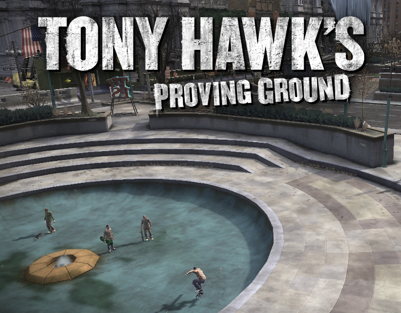Tony Hawks Proving Ground (2007) Environment Art
