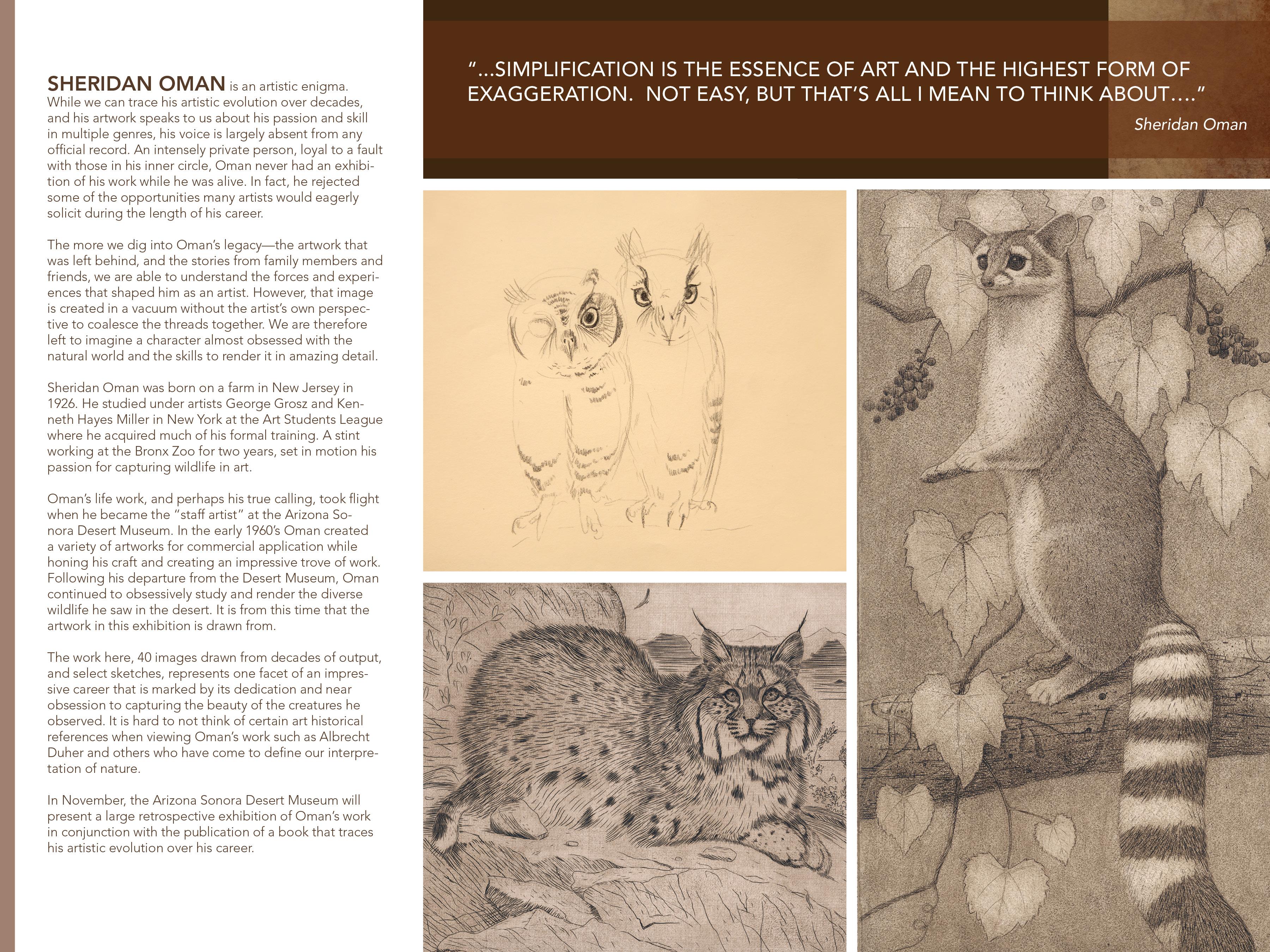 Sheridan Oman Brochure