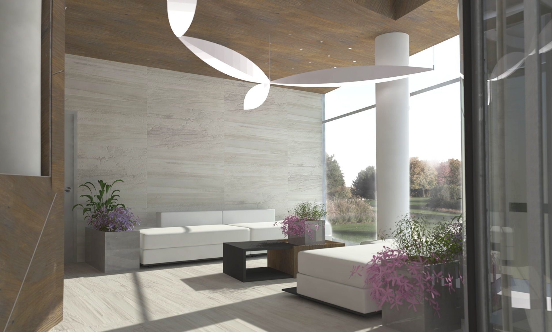 SPA Kaliningrad interior project Option 2