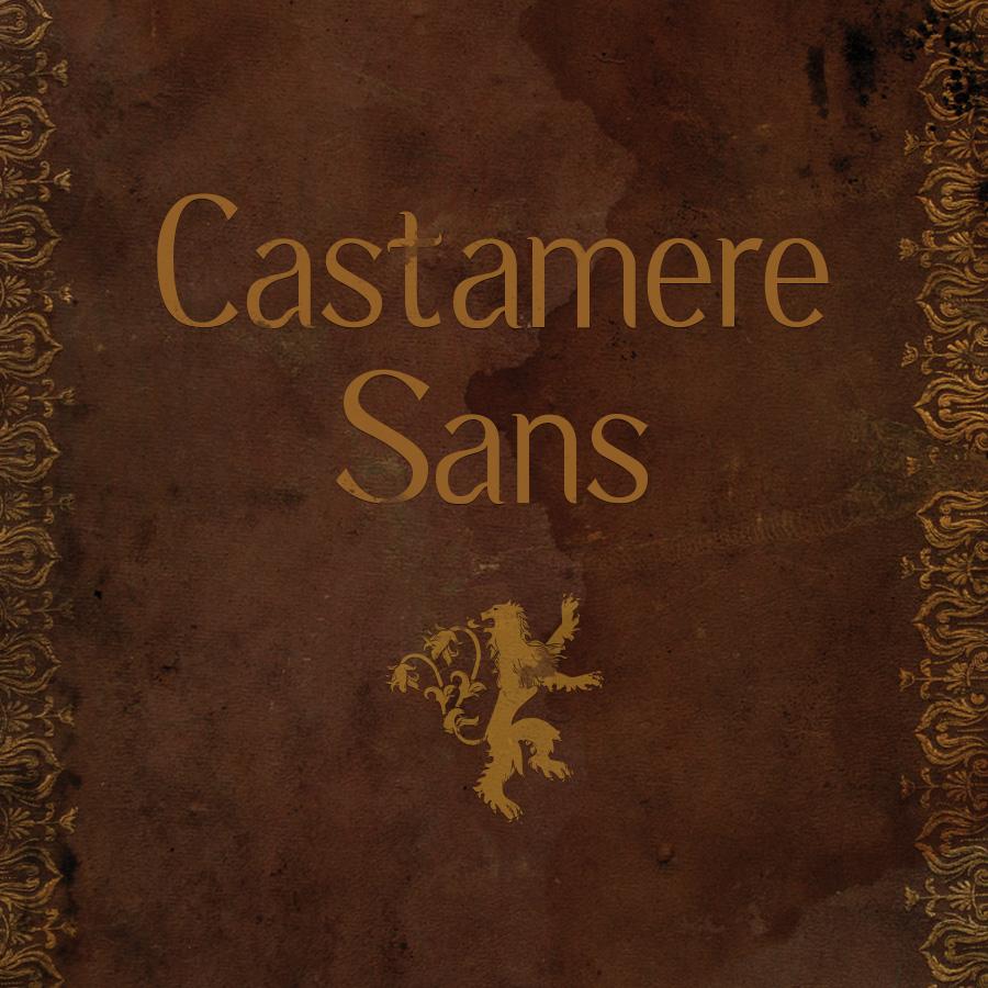 Castamere Sans