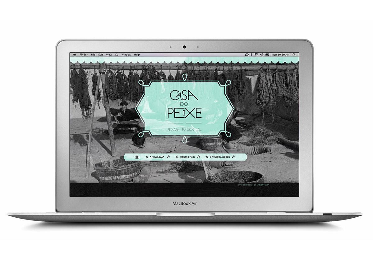 Casa do Peixe Website and Newsletter