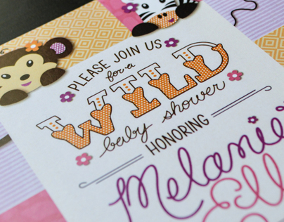 Baby Shower Invitations and Extras