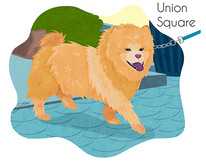 Illustrated NYC Dogs
