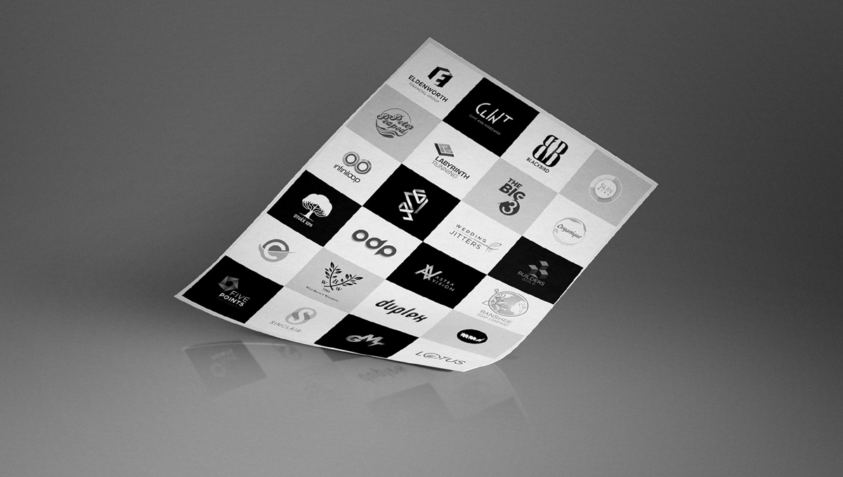 Old Logotypes / Identity Works 2008 - 2010