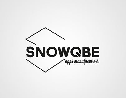 SnowQbe - Visual identity, prints & website