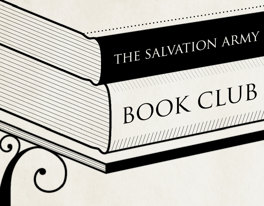 The Salvation Army Book Club Invitations