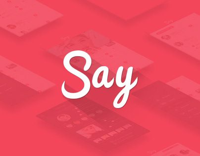 Say Mobile app