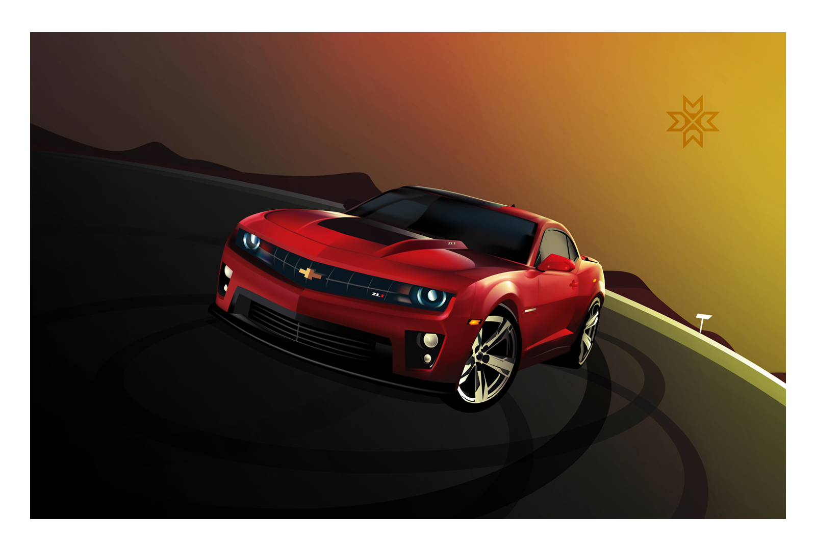 # Illustration of  Chevrolet Camaro