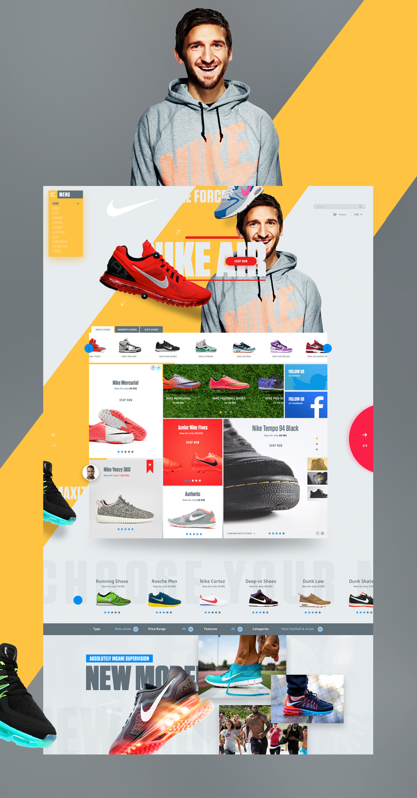 Nike Shop Redesign