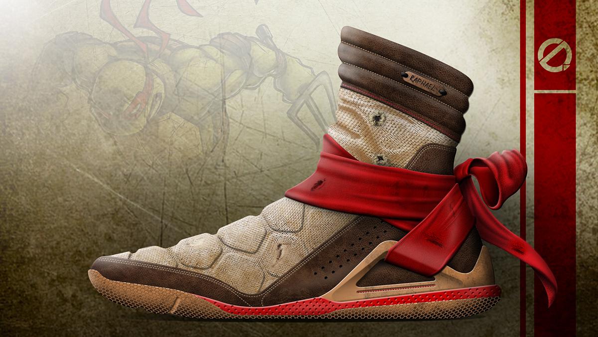 TMNT Footwear