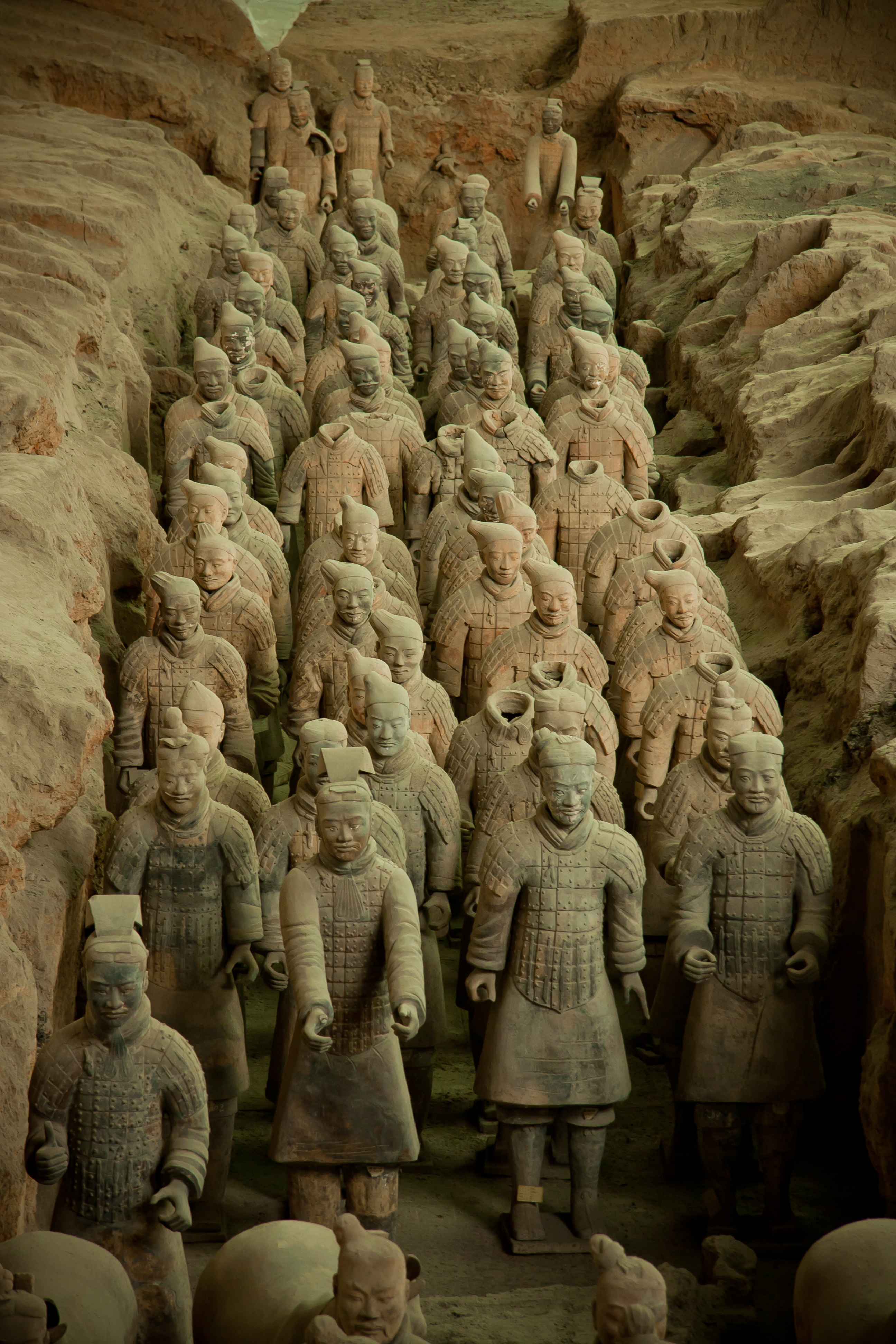 Terracotta Army. Huaqing Hot Springs