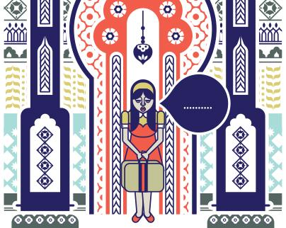 High Life Magazine Illustration