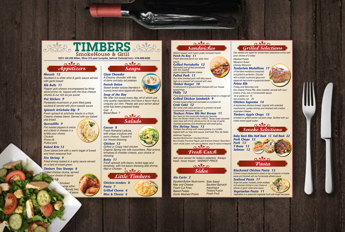 Smokehouse & Grill Menu