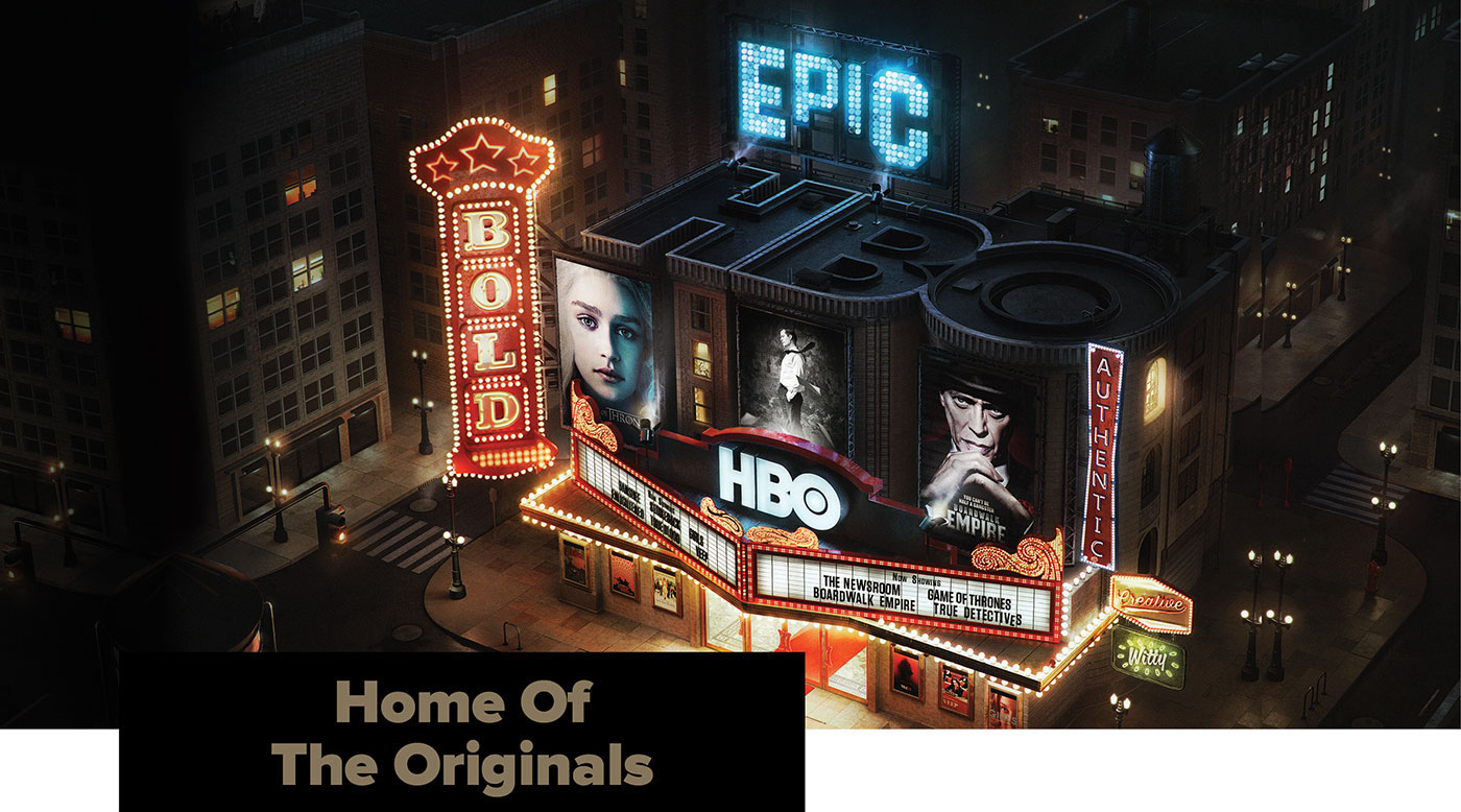 HBO - Home of The Originals