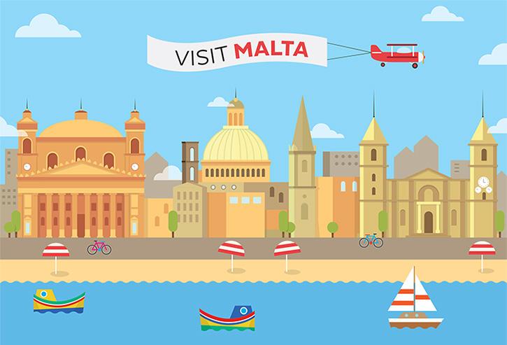 Visit Malta Infographic