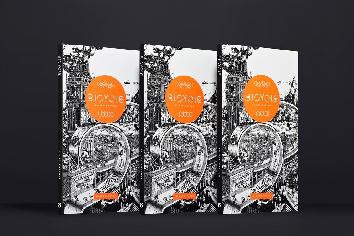 BICYCLE / illustration book by Ugo Gattoni