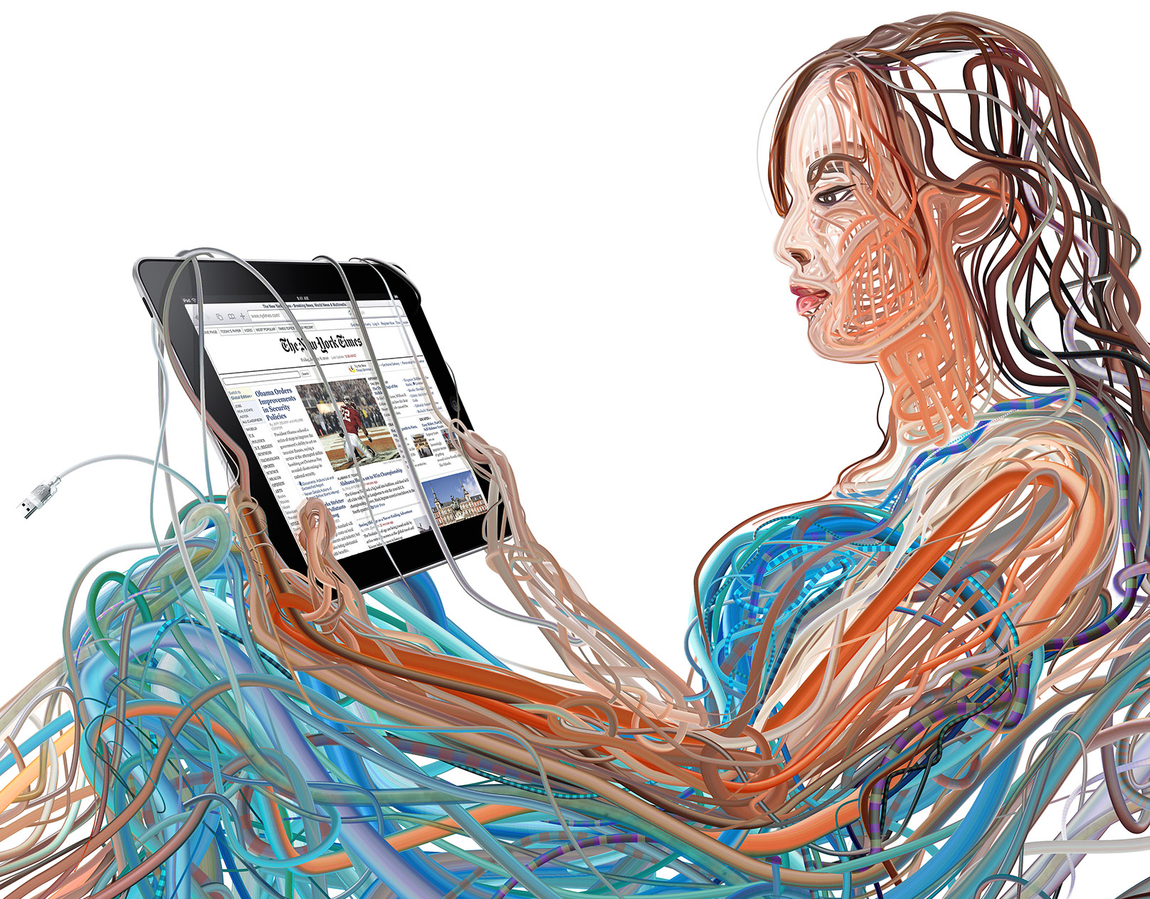 iPad and the wired (and wireless) future of media