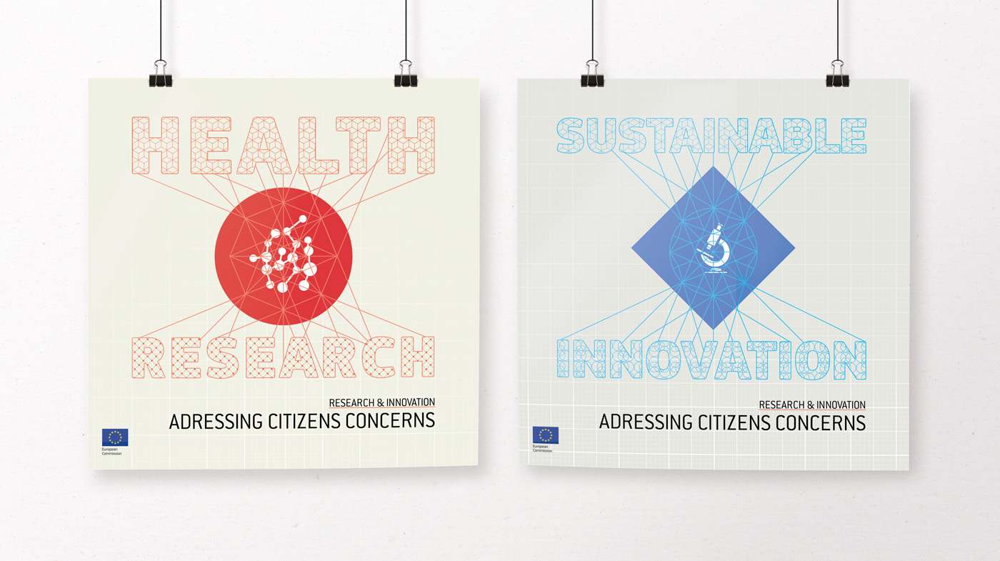 European Research & Innovation poster design