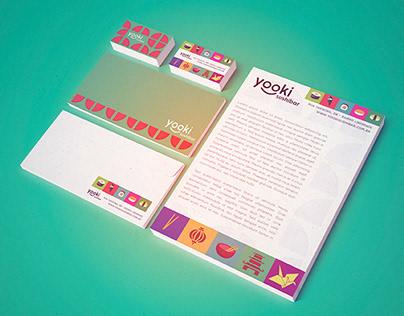 Yooki Sushibar - Branding