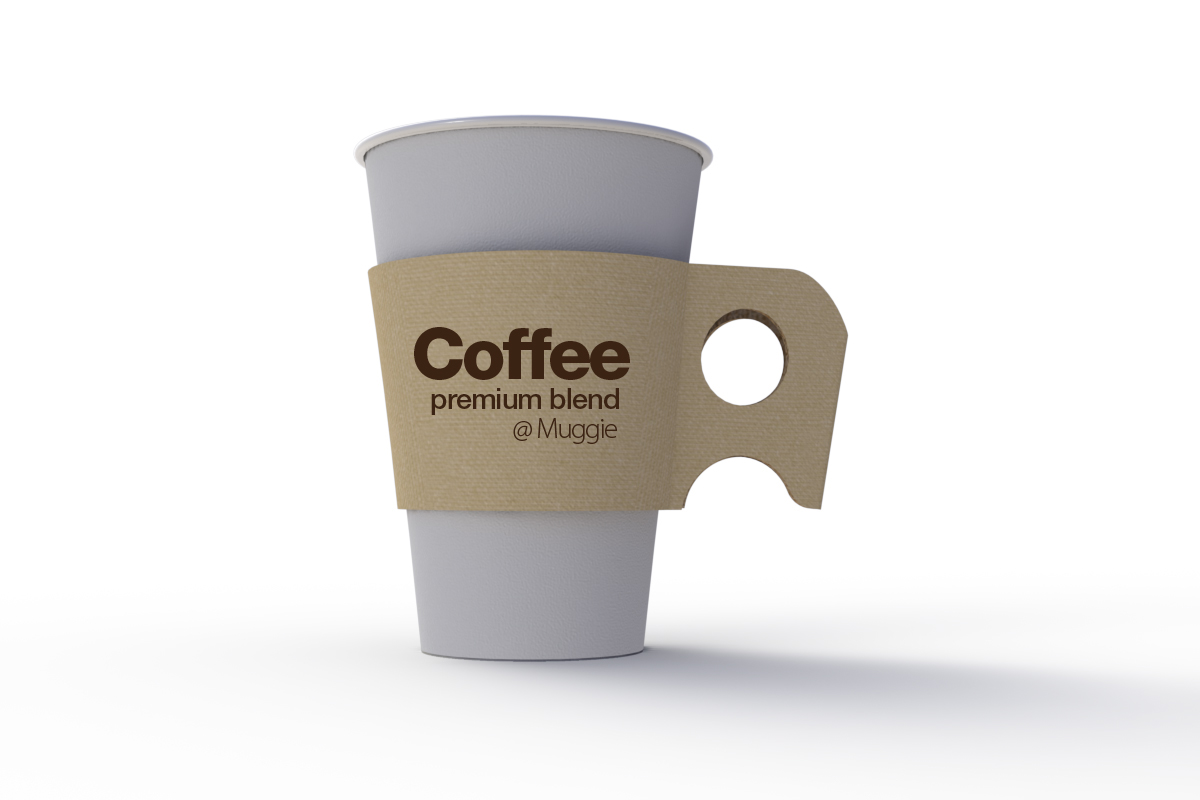 MUGGIE : disposable cup sleeve