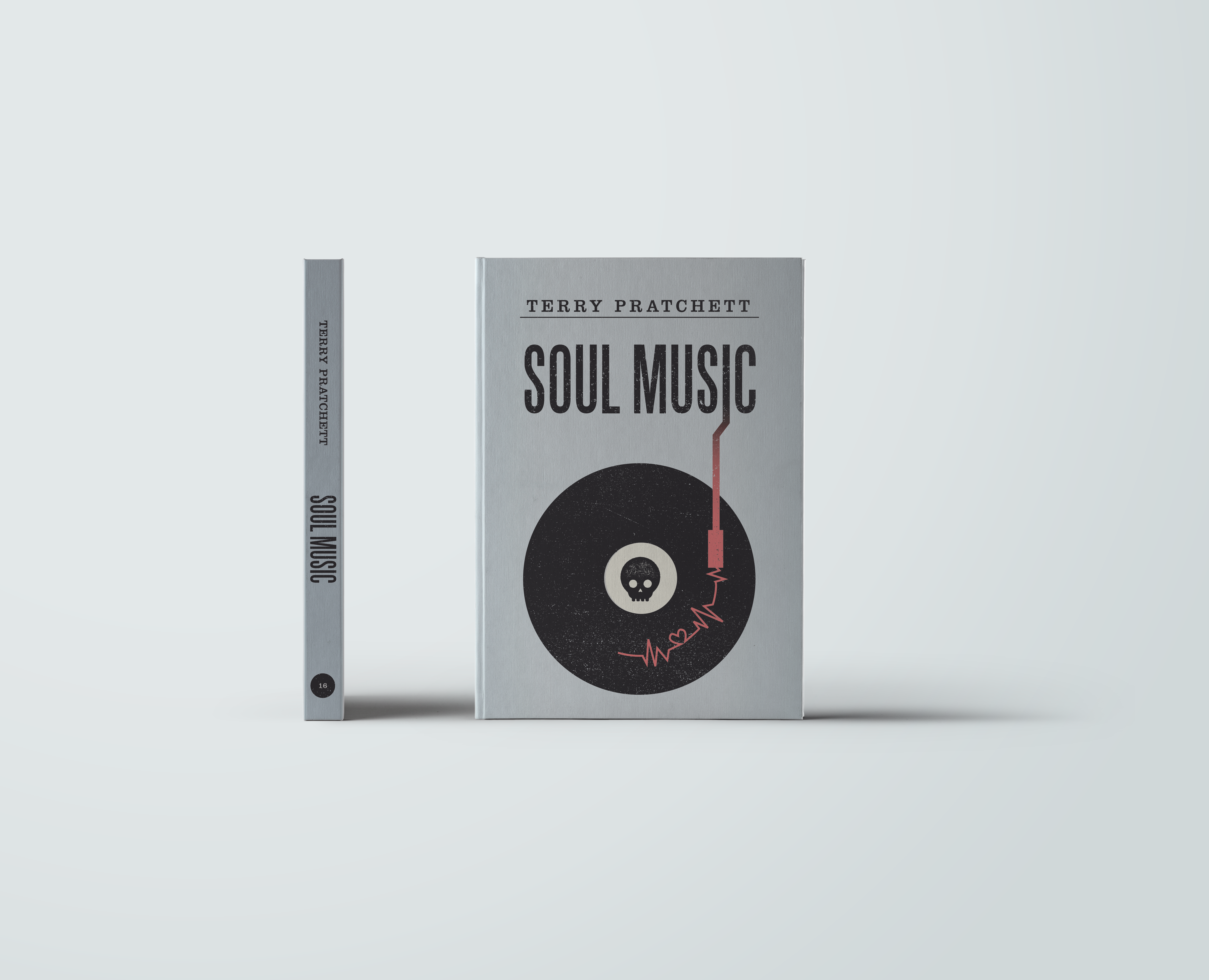 Soul Music by Terry Pratchett, book cover