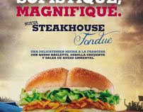 "Gráfica ""Steakhouse"""